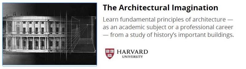 Curso gratuito de arquitectura de la Universidad de Harvard