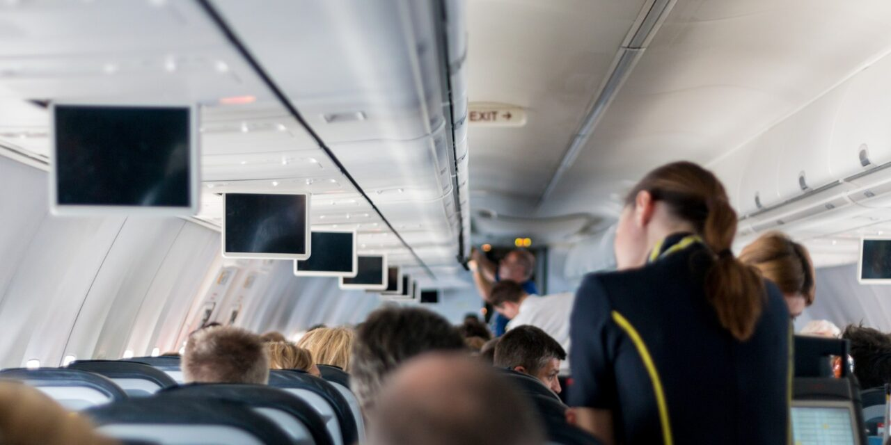 ¿Quieres ser azafata de vuelo?